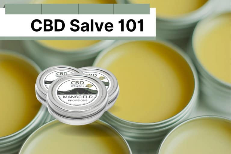 CBD Salve 101 YOUR COMPREHENSIVE GUIDE TO CBD Salve